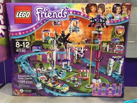 Lego Friends Park 41130 lego friends amusement park roller coaster set box lego parks roller