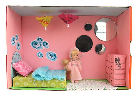 shoebox bedroom project shoe box dollhouse craft for kids creative jewish mom