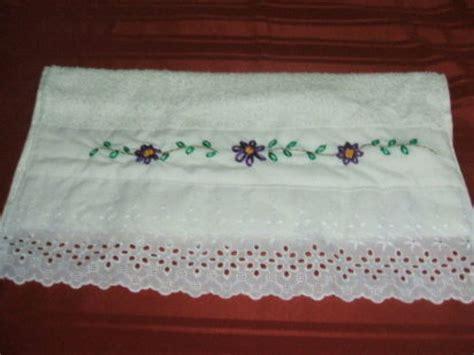 cenefas para toallas cenefa para bordar toallas facilisimo