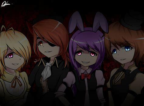 imagenes anime five nights at freddys five night at freddy female 2 2 by purishiraokada on