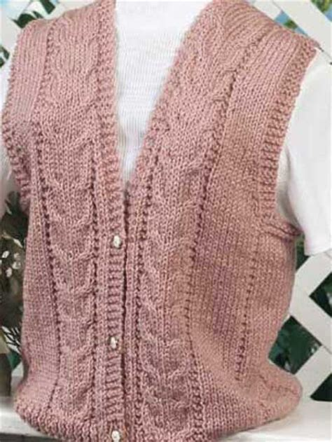 free printable vest pattern free vest knitting patterns pretty in pink ii