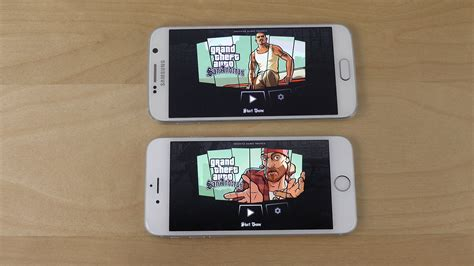 what s better galaxy or iphone gta san andreas samsung galaxy s6 vs iphone 6 gaming