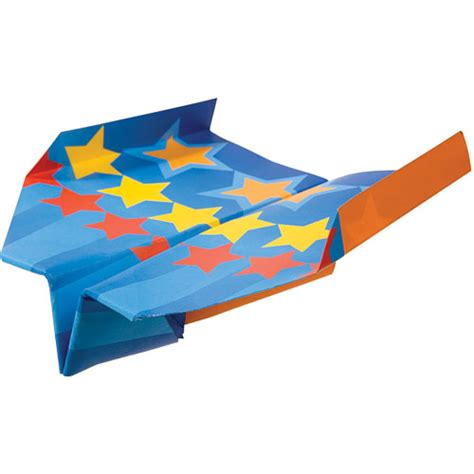 Paper Planes To Fold And Fly - fold n fly paper airplanes talbots toyland