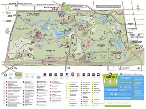 forest park map park navigation forest park forever