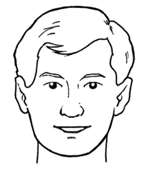 partes de la cara dibujo para colorear colorear partes del cuerpo humano y los cinco sentidos