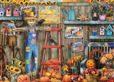 mary maxim harvest time jigsaw puzzle  items