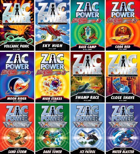 he recognized power books zac power
