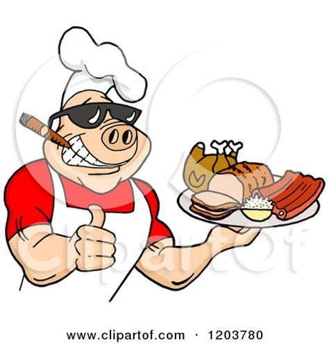 royalty free rf bbq clipart illustrations vector