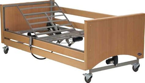 letto elettrico letto elettrico ortopedico reg in altezza sponde