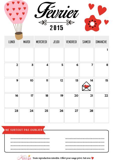 V De V Calendrier 2015 Sirop De Fraise Lifestyle Et Diy Janvier 2015