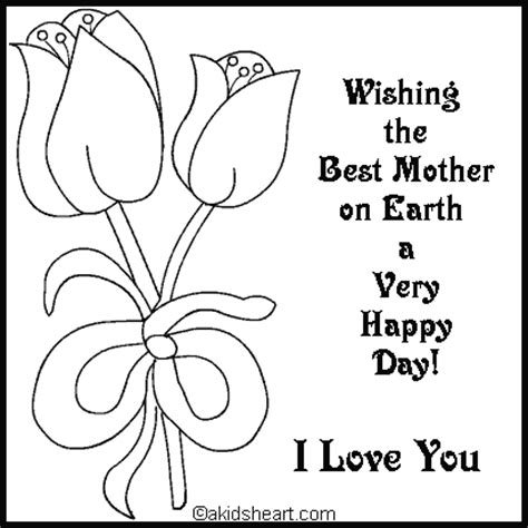 hard coloring pages for mother s day card to color for mom coloring holidays mom pinterest
