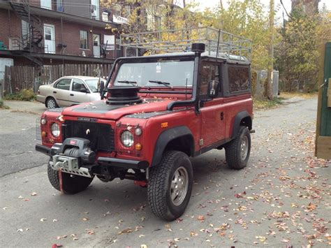 land rover red land rover defender price modifications pictures moibibiki