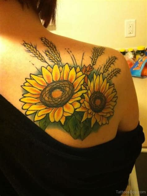 sunflower tattoo ideas sunflower tattoos designs pictures