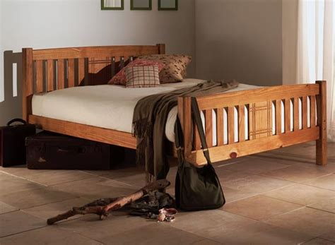 wooden king size bed frames sedna 5 pine wooden king size bed frame