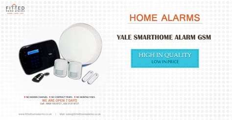 yale smarthome alarm gsm fitted home alarms uk