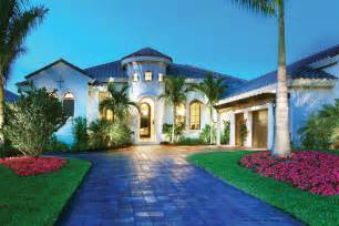 One Story Floor Plans With Two Master Suites Mediterranean Style House Plan 4 Beds 4 5 Baths 3790 Sq
