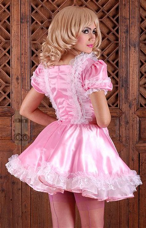pinterest satin feminization mimi satin sissy dress sissy store pinterest satin