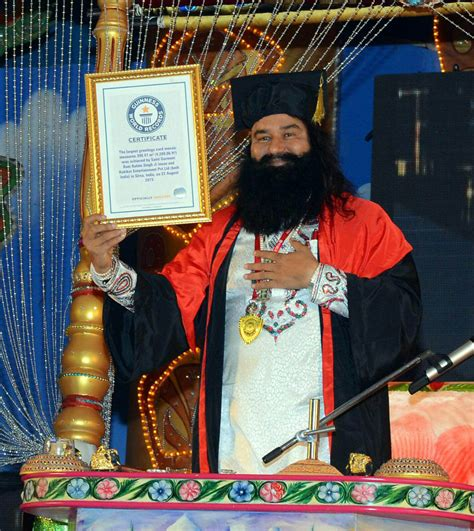 sant gurmeet ram rahim singh ji of divinity at 25th january bhandara celebrations