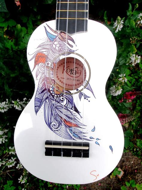flower design ukulele 17 best images about instruments on pinterest surf