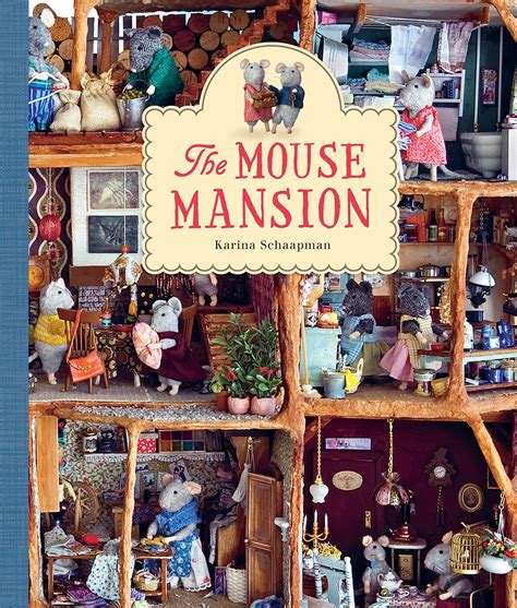 the and the mouse picture book the mouse mansion design of the picture book