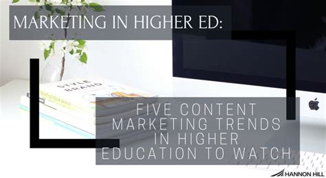 Marketing Education 5 by Hannon Hill