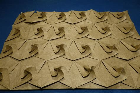 Tesselation Origami - origami tessellations â models folded by michaå kosmulski