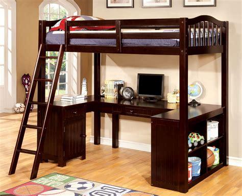high loft bed with desk bunk beds loft beds back to basics