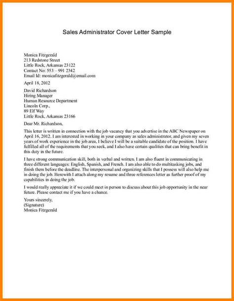 Email Cover Letter Sles by 5 Sales Letter Introduction Introduction Letter