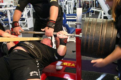 bench press records by weight ryan kennelly 1050 world record bench press