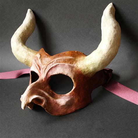 Make A Paper Mache Mask - paper mache masks on behance
