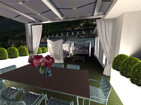 progetto terrazzo progetto esterno terrazzo con doppia variante