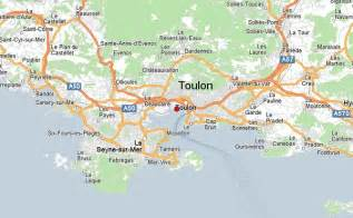 Toulon France Map by Toulon Map