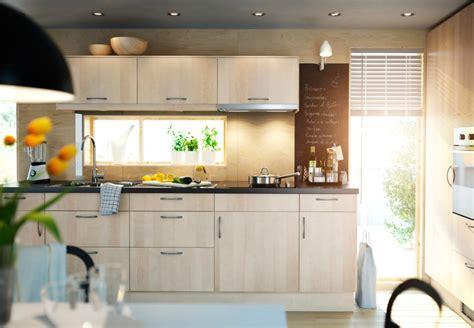 cuisine en cuisine en bois ikea cuisine en image