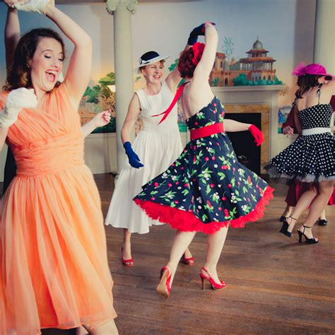 vintage dance party 1950 s fashion for your vintage hen party
