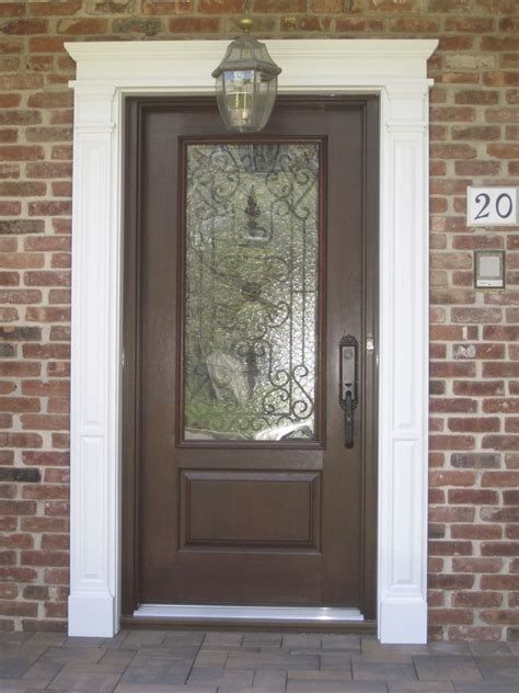 Single Exterior Doors Single Fiberglass And Steel Entry Doors Royal Windows And Doors