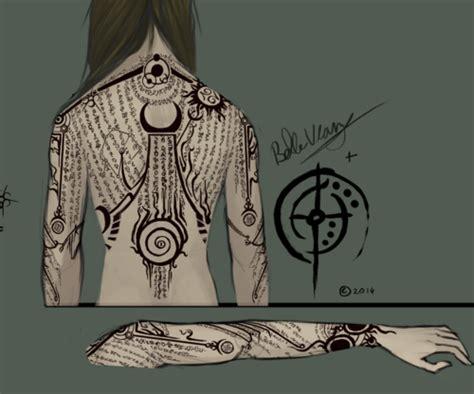 elder scrolls tattoo elder scrolls elder scrolls