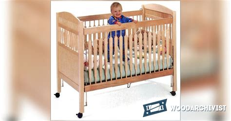 baby crib plans woodworking baby crib plans woodarchivist