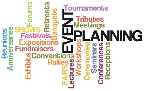event planner services special events