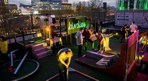 top crazy golf venues  london