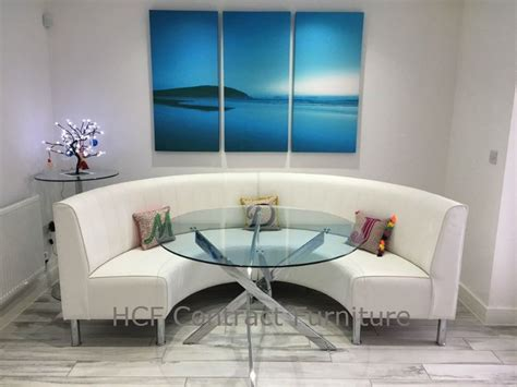 Circular Banquette Seating by Booth And Banquette Seating Circular Or Curved