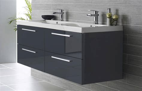 Hudson Reed Quartet Basin And Wall Hung Cabinet Cab140 Bathroom Furniture Suppliers