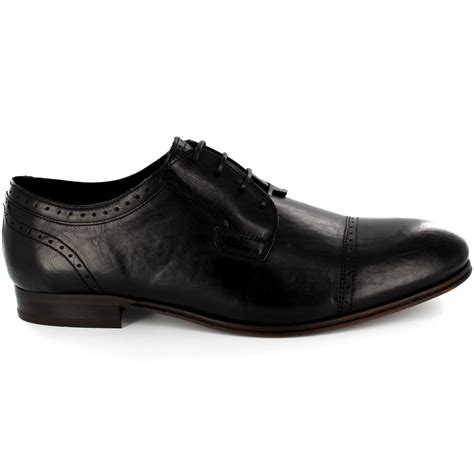 Sepatu Azcost Derby Formal Leather mens h by hudson sheldon smooth leather lace up formal derby shoes all sizes ebay