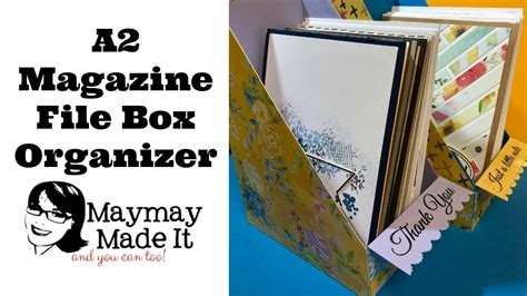 a2 card holder template a2 card holder magazine style