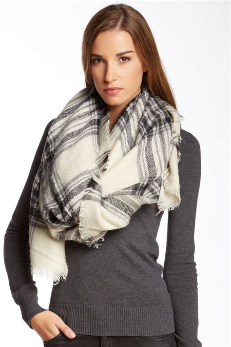 Nordstrom Rack 14th by 14th Union Oversized Plaid Scarf Nordstrom Rack
