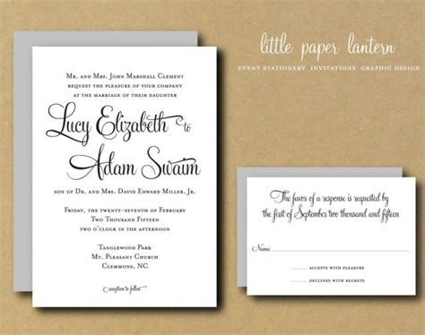 printable diy wedding invitation template custom