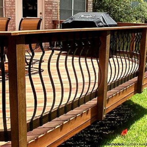 Iron Pickets For Decks 17 Best Ideas About Iron Balusters On Iron