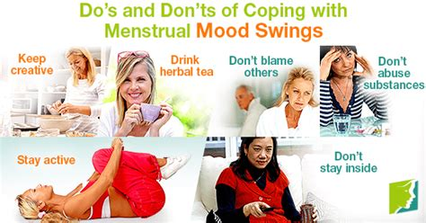 how to avoid mood swings during periods do s and don ts of coping with menstrual mood swings