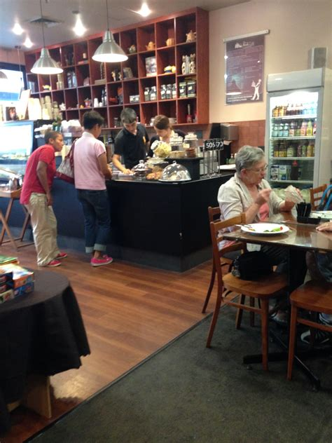 Garden City Coffee Shop The Book Cafe Brisbane