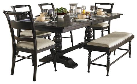 liberty furniture 6 94x42 dining room set w