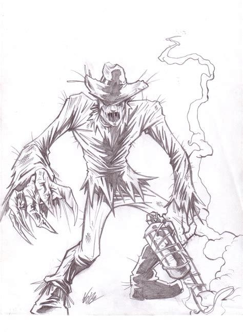 sketchbook vs sketchpad scarecrow sketch by banenascent on deviantart